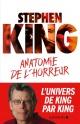 Couverture : Anatomie de l'horreur Stephen King