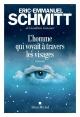 Couverture : L'homme qui voyait à travers les visages Eric-emmanuel Schmitt