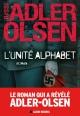 Couverture : L'unité Alphabet Jussi Adler-olsen