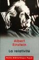 Couverture : Relativité (La) Albert Einstein