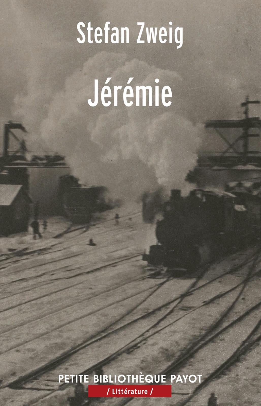 Couverture : Jérémie Stefan Zweig, Annette Wieviorka