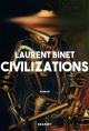 Couverture : Civilizations Laurent Binet