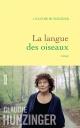 Couverture : Langue des oiseaux(La) Claudie Hunzinger