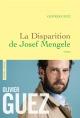 Couverture : La disparition de Josef Mengele Olivier Guez