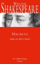 Couverture : Macbeth William Shakespeare, Pit Goedert