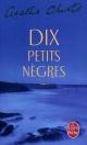 Couverture : Dix petits nègre Agatha Christie, François Rivière