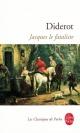 Couverture : Jacques le fataliste et son maître Denis Diderot