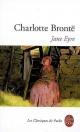 Couverture : Jane Eyre Charlotte Brontë