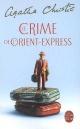Couverture : Crime de l'Orient-express (Le) Agatha Christie