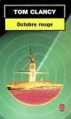 Couverture : Octobre Rouge Tom Clancy