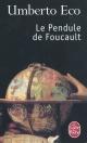 Couverture : Pendule de Foucault (La) Umberto Eco