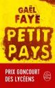Couverture : Petit pays Gaël Faye