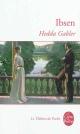 Couverture : Hedda Gabler  H Ibsen