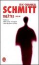 Couverture : Théâtre T.3 Eric-emmanuel Schmitt