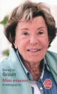 Couverture : Mon évasion : Autobiographie Benoîte Groult