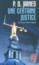 Couverture : Une Certaine Justice P.d. James