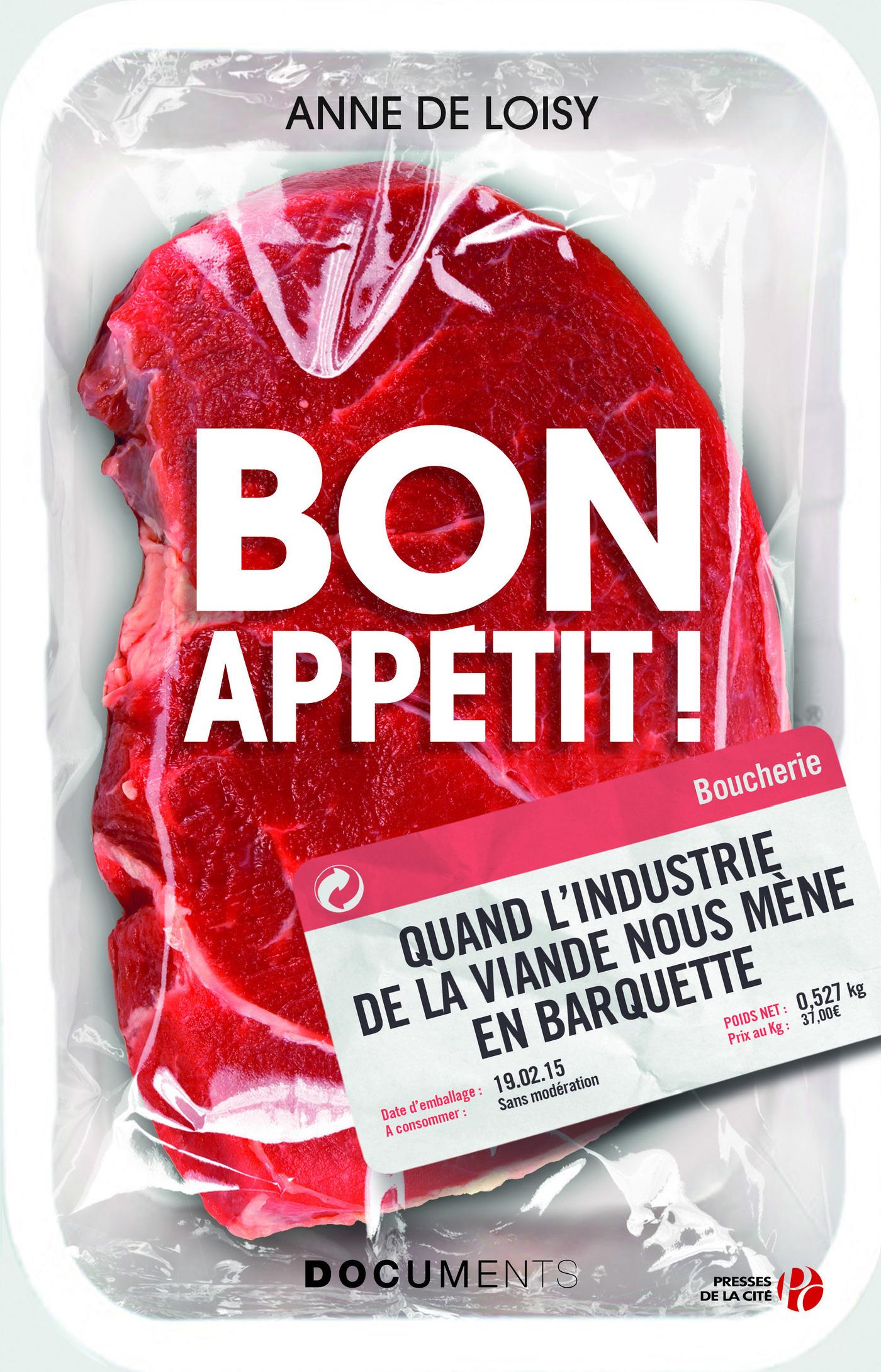 Couverture : Bon appetit! -comm.industriels.. viande.. Anne De Loisy