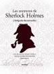 Couverture : Les aventures de Sherlock Holmes : l'intégrale des nouvelles Arthur Conan Doyle, Sidney E. Paget, Éric Wittersheim