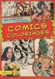 Couverture : Comics coloriages: 120 classiques à colorier