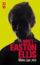 Couverture : Moins que zéro  Bret Easton Ellis