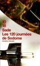 Couverture : Les 120 journées de Sodome  Sade