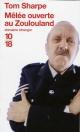 Couverture : Mêlée Ouverte au Zoulouland Tom Sharpe