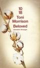Couverture : Beloved Toni Morrison