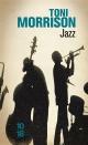 Couverture : Jazz Toni Morrison