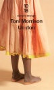 Couverture : Un Don Toni Morrison