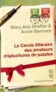 Couverture : Cercle Littéraire des Amateurs d'Épluchures de Patates Annie Barrows
