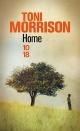 Couverture : Home Toni Morrison