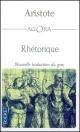 Couverture : Rhétorique  Aristote