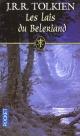 Couverture : Lais du Beleriand (Les) John Ronald Reuel Tolkien