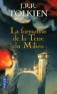Couverture : Histoire de la Terre du Milieu T.4: La formation de la Terre du m John Ronald Reuel Tolkien