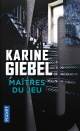 Couverture : Maîtres du jeu Karine Giebel