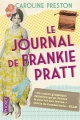 Couverture : Le journal de Frankie Pratt: scrapbook Caroline Preston