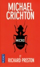 Couverture : Micro Michael Crichton, Michael Preston