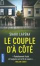 Couverture : Le couple d'à côté Shari Lapeña