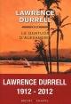 Couverture : Le quatuor d'Alexandrie Lawrence Durrell