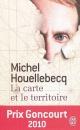 Couverture : Carte et le territoire (La) Michel Houellebecq