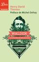 Couverture : Walden ou La vie dans les bois.Extraits Henry David Thoreau, Michel Onfray
