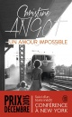 Couverture : Un amour impossible Christine Angot