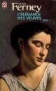 Couverture : Elégance des Veuves (L') Alice Ferney