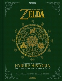 Vignette du livre The Legend of Zelda : Hyrule historia