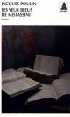 Couverture : Yeux bleus de Mistassini (Les) Jacques Poulin