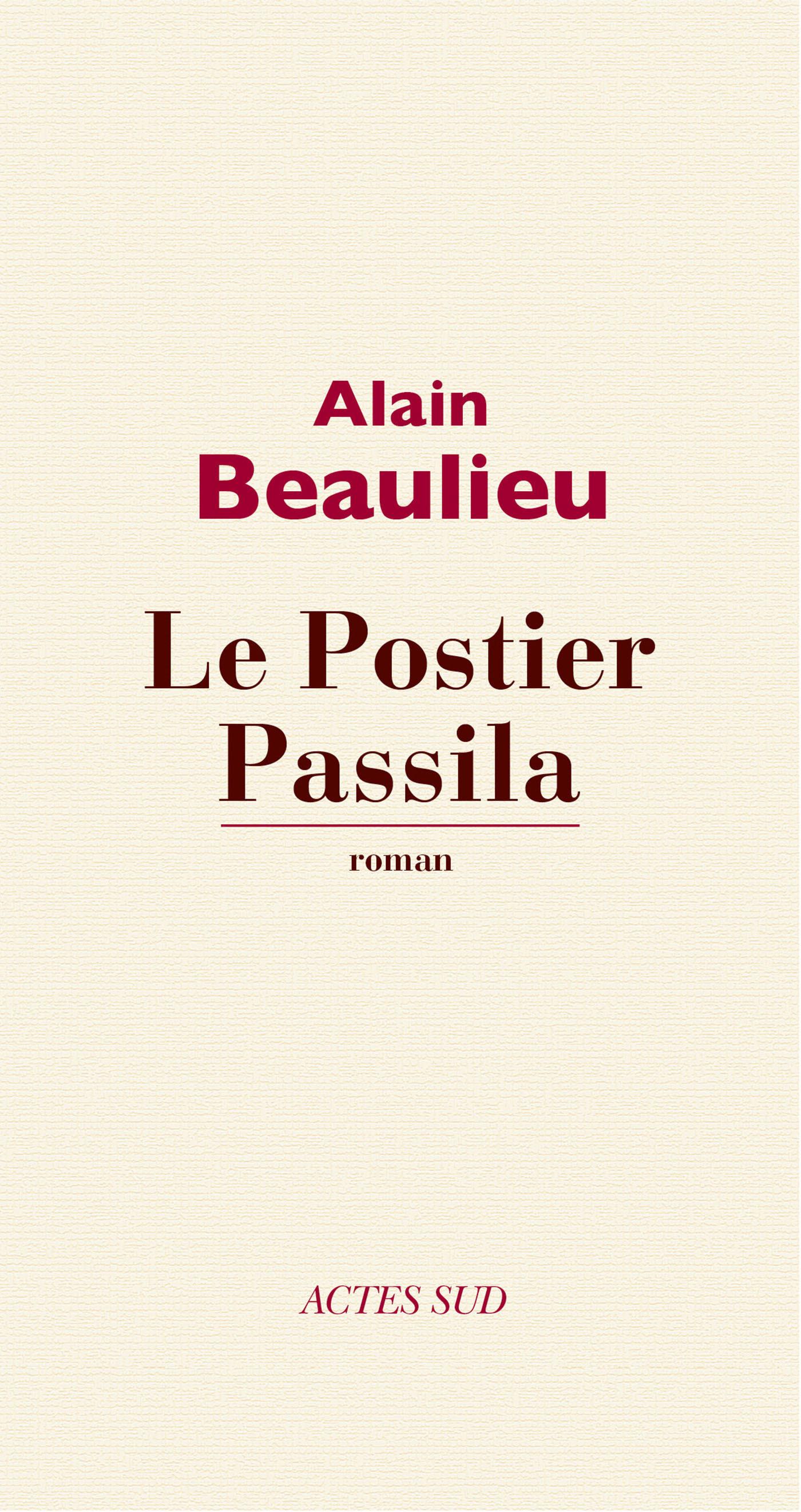 Couverture : Postier Passila (Le) Alain Beaulieu