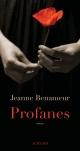 Couverture : Profanes Jeanne Benameur
