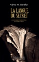 Couverture : Langue du secret (La) Najwa Barakat
