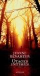 Couverture : Otages intimes Jeanne Benameur