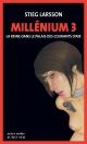 Couverture : Millénium T.3: La reine dans le palais des courants d'air Stieg Larsson